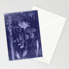floral cyanotype Stationery Cards