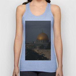 Dome of the Rock - Kipat Hasela - Qubbat As-Sakhrah - Jerusalem Unisex Tank Top