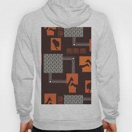 African Tribal Pattern No. 28 Hoody