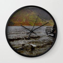 Crummock Splash Wall Clock