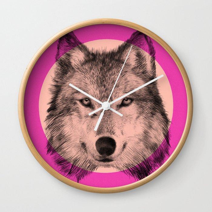 Wild 7 - by Eric Fan and Garima Dhawan Wall Clock