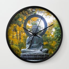 Buddha Meditating Wall Clock