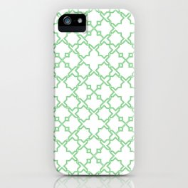 Geometric Pattern - Oriental Design iPhone Case