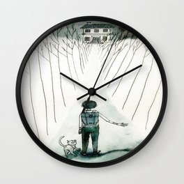 so lonely and so lost... Wall Clock