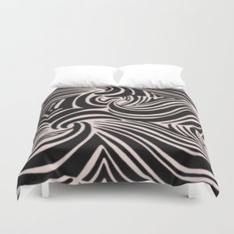 the big swirl Duvet Cover