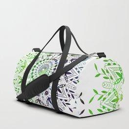 Green Mandala Duffle Bag