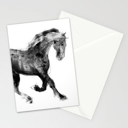 Horse (Friesian Colt) Stationery Cards