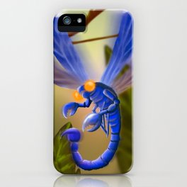 Scorp-Fly iPhone Case
