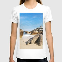 Lighthouse on Brittany Beach T-shirt