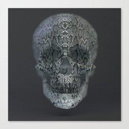 Snake Skull Canvas Print