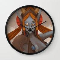 ellie goulding Wall Clocks featuring Ellie by Chelles