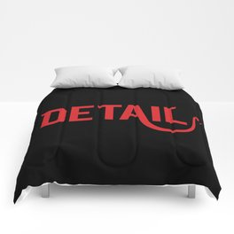 The Devil Is In The Detail Comforters