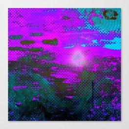 The Drowning Sun Canvas Print