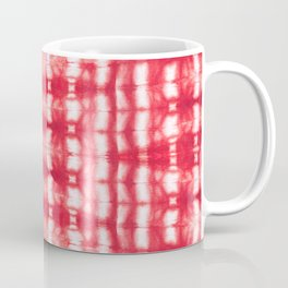 Shibori Itajime Reds Coffee Mug