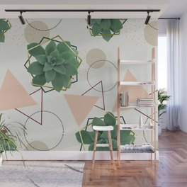 Lovely Succulents #redbubble #decor #buyart Wall Mural