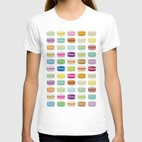 macaroon T-shirts featuring Colorful macaroon set by MiartDesignCreation
