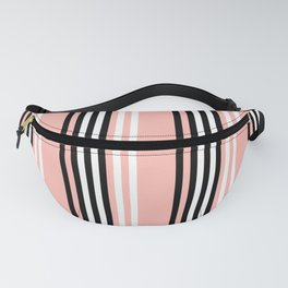 Geometric Design 8 to compliment Horizons Geometric Design 5 - Peach Pink Fanny Pack