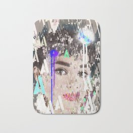 Audrey Type Abstract Art Bath Mat