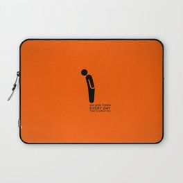 Sunscreen / Do one thing that scares you Laptop Sleeve