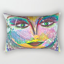 Oh My Darling, Its True. Beautiful Things Have Dents and Scratches Too Rectangular Pillow