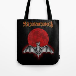 Sanguinosa - The Vampyre Bat Tote Bag