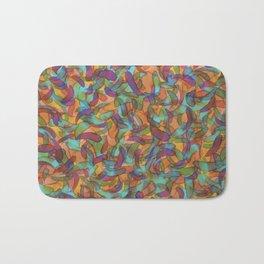 Confetti Leaf Bath Mat