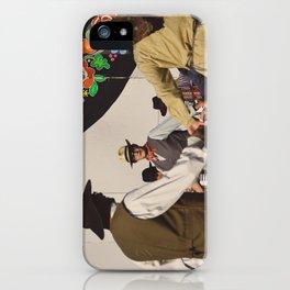 Danse de l'accordéon iPhone Case