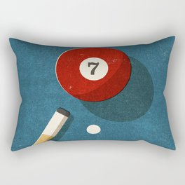 BILLIARDS / Ball 7 Rectangular Pillow