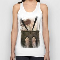 bridge Tank Tops featuring Bridge by Daniela Battaglioli