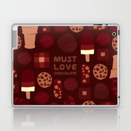 Must Love Chocolate Laptop & iPad Skin
