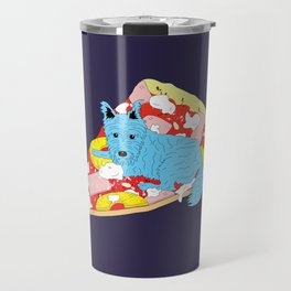 Pizza Dog Travel Mug