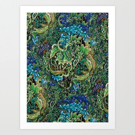 Immersive Pattern Art Print