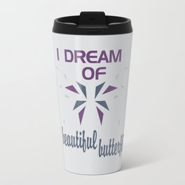 Beautful Butterflies Travel Mug