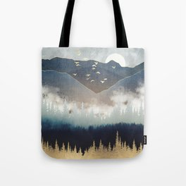 Blue Mountain Mist Tote Bag