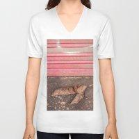 poop V-neck T-shirts featuring Got Poop? by Josh Lohmeyer
