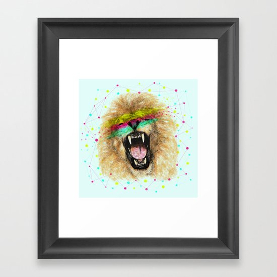 Lion II Framed Art Print
