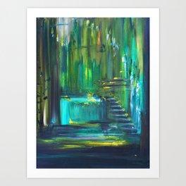 Ascension to Emerald City Art Print