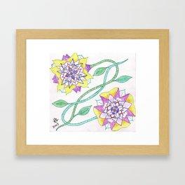 Flowers of Elume Framed Art Print