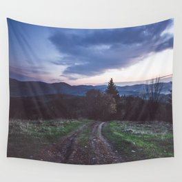 Go where you feel the most alive Wall Tapestry