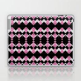 Pink Flamingos Art Deco Pattern Laptop & iPad Skin