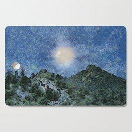 Starry Night Sunrise Cutting Board