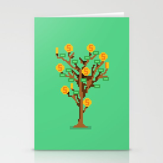 Money Trees Stationery Cards