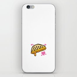 You Make Me Melt Play on Words T-Shirt iPhone Skin