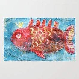 Royal Fish Rug