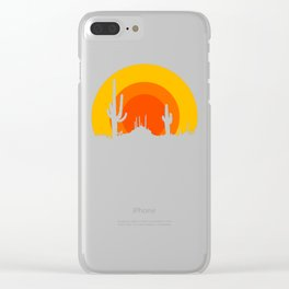 mucho calor Clear iPhone Case