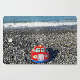 Postcard from the sea Cutting Board