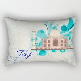 Taj Mahal Rectangular Pillow