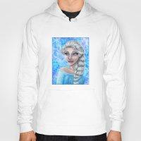 frozen elsa Hoodies featuring Elsa by Kimberly Castello