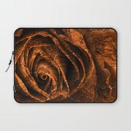 Burning Grunge Rose Laptop Sleeve