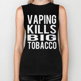 Vaping Kills Big Tobacco Biker Tank